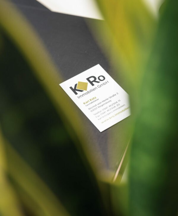 Visitenkarte KRo Immobilien